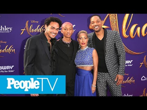 Will Smith&39;s Entire Family Joins Him At The &39;Aladdin&39; Premiere  PeopleTV