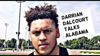 Four-star OL Darrian Dalcourt breaks down his commitment to Alabama