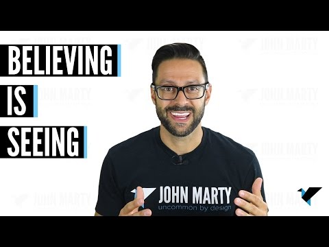 Believing Is Seeing – Your Beliefs Shape What You See