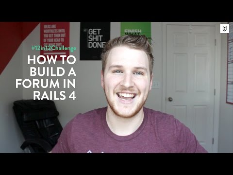 How To Build A Forum In Rails 4