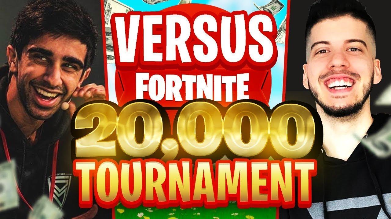 VIKKSTAR & TINNY vs TYPICAL GAMER & THIEFS in Fortnite $20,000 TOURNAMENT