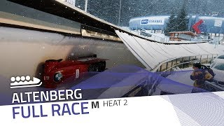 Altenberg | BMW IBSF World Cup 2018/2019 - 4-Man Bobsleigh Heat 2 | IBSF Official