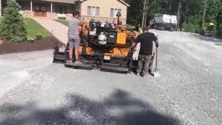Driveway preparation for asphalt