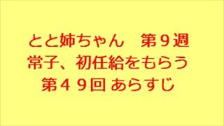 連続テレビ小説 とと姉ちゃん 第9週 常子、初任給をもらう 第49回 あ...