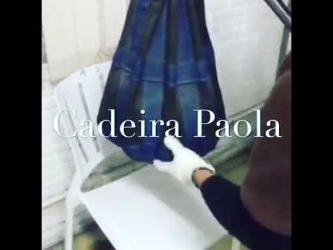 Cadeira Paola Teste de Resistência