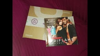 Розпакування   Oriflame 7/2019   Лакова сумка