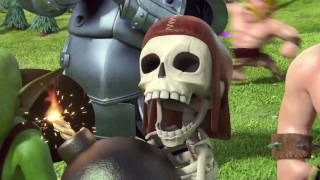 Clash of clans Newest trailer   Magic Wizard