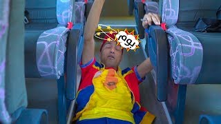 عمو صابر حزام الامان - amo saber seat belt