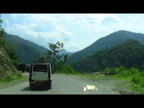 NJP Siliguri to Gangtok by Car via NH 10 - Part 1 (Upto Kalimpong)