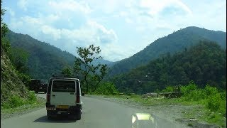 NJP Siliguri to Gangtok by Car via NH 10 - Part 1 (Upto Kalimpong)