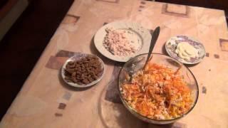 рецепт салата на праздник