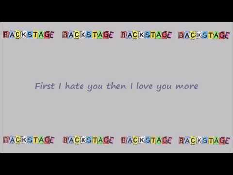 Alya (Backstage) - Shot Me Down Lyrics