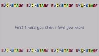 Alya (Backstage) - Shot Me Down Lyrics thumbnail