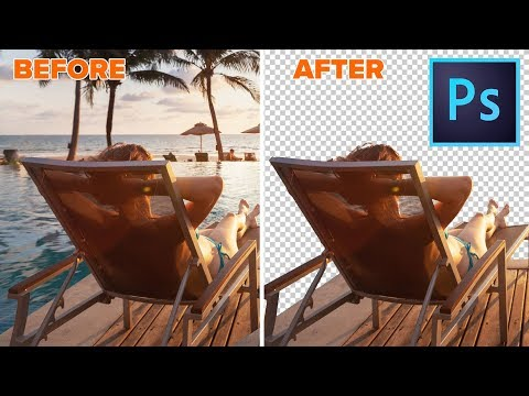 How To Remove The BACKGROUND From A Photo In Photoshop