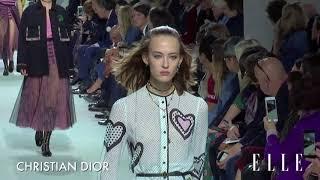 Christian Dior SS18 Paris Collection