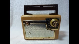 1957 Admiral model 237 transistor radio (made in the USA)