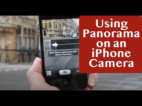 How to Use Panorama Camera Feature Including Changing Direction to Right to Left