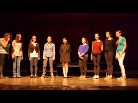 CMS Middle School Vocal Group - Wake Me Up - AVICII