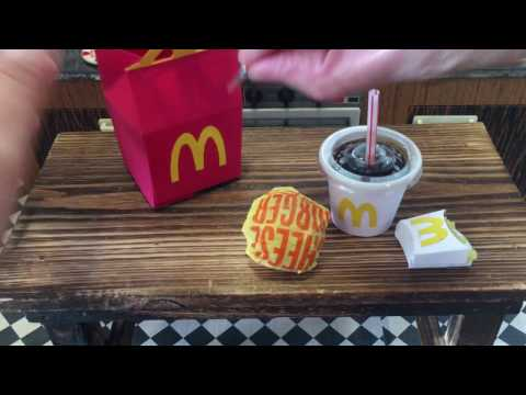 Tiny happy meal for Tiny (Presidential) hands