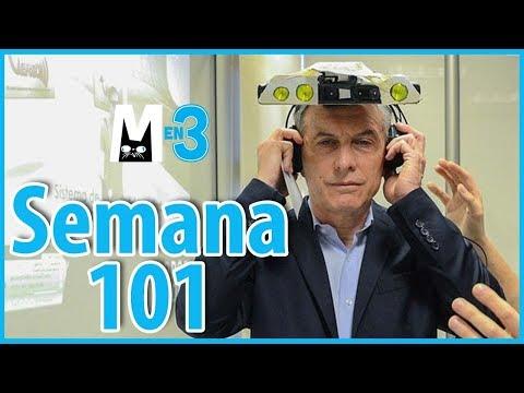 Macri en 3 - Semana 101 - El resumen semanal del Presidente