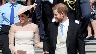 Harry and Meghan attend first official event after Royal wedding