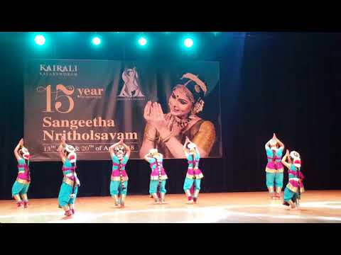 Amiya's first stage performance of Classical dance
