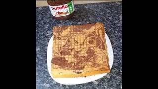 NUTELLA LAYER CAKE (without baking powder)