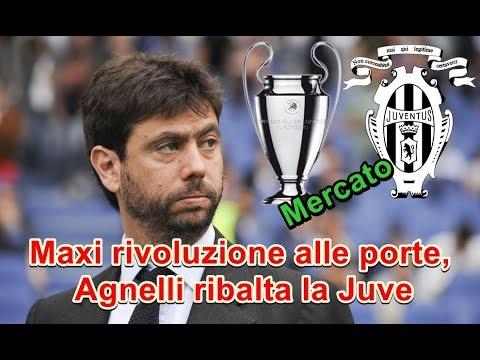 Mercato Juve : Maxi rivoluzione alle porte, Agnelli ribalta la Juve