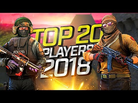 CS:GO - Top 20 Players Of 2018 (Fragmovie)