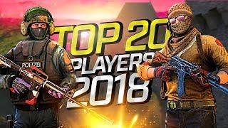 CS:GO - Top 20 Players of 2018 (Fragmovie)