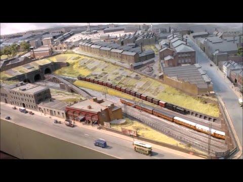 Model railway, Copenhagen Fields