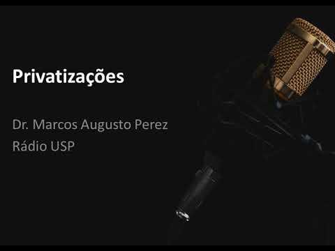 Privatizações - Entrevista do dr Marcos Augusto Perez para a Rádio USP