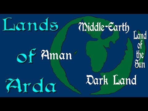 Lands of Arda: The World of Lord of the Rings