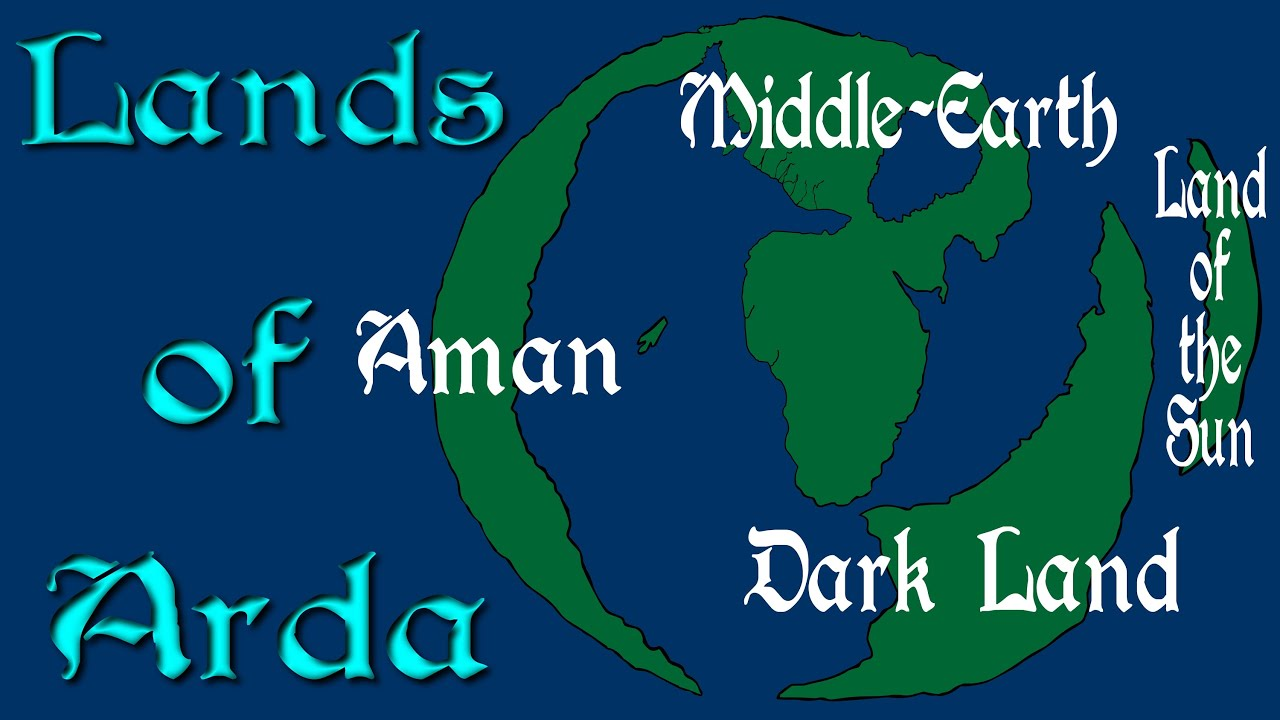 lands of arda the world of lord of the rings youtube