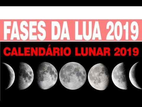 Calendario 2019 Fases Da Lua