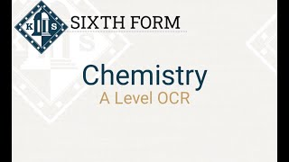 A Level Chemistry Induction