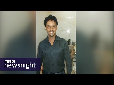 Did police hunting people smuggling kingpin arrest an innocent refugee? - BBC Newsnight