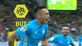 But Lucas OCAMPOS (87') / FC Nantes - Olympique de Marseille (0-1)  / 2017-18