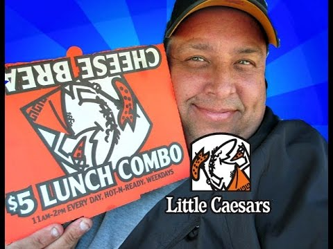 Little Caesars Pizza~HOT-N-READY® $5 Lunch Combo Review!