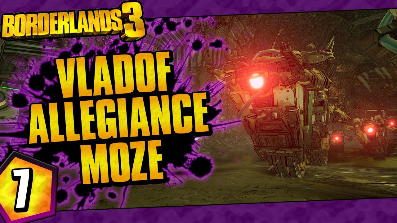 Borderlands 3 | Vladof Allegiance Moze Funny Moments And Drops | Day #7 thumbnail
