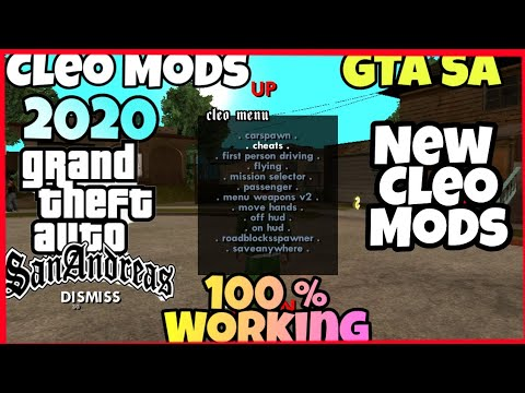 How To Download Cleo Mods For Gta San Andreas Android 2020
