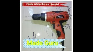 iBell electric screwdriver with multiple functions . Drill ect. Unboxing video