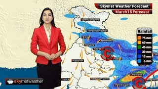 Weather Forecast for Mar 15: Temperatures to soar in Mumbai, rains in Punjab, West Bengal