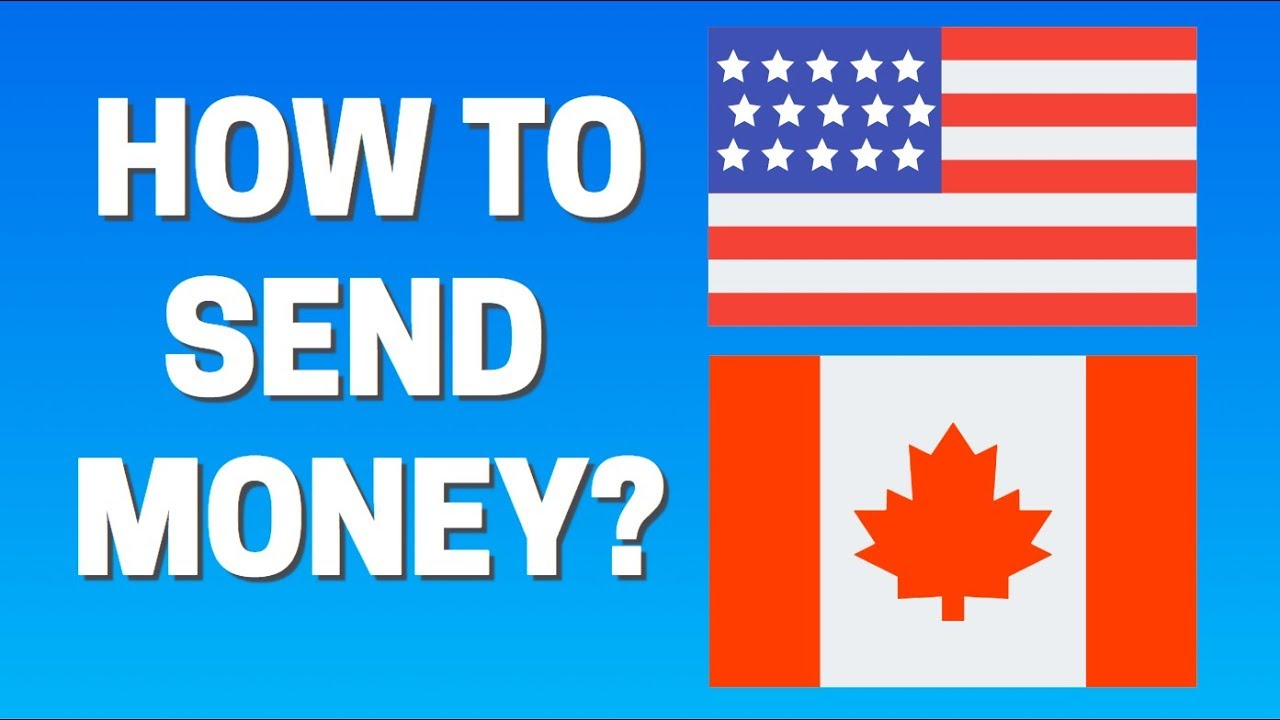 How To Send Money From Usa Canada