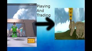 ROBLOX Dinosaur Simulator - FOSSIL TREX & TRADING!!