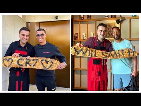 Celebrity come to Dubai Restaurant CZN Burak