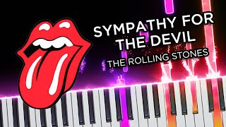 Sympathy (The Rolling Stones) - Piano tutorial