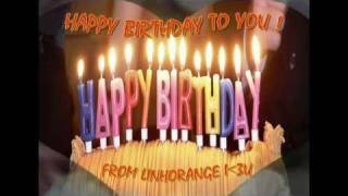 Happy Birthday - Techno Remix (videoclip by LinhOrange)