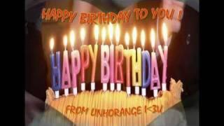 Happy Birthday - Techno Remix (videoclip by LinhOrange)