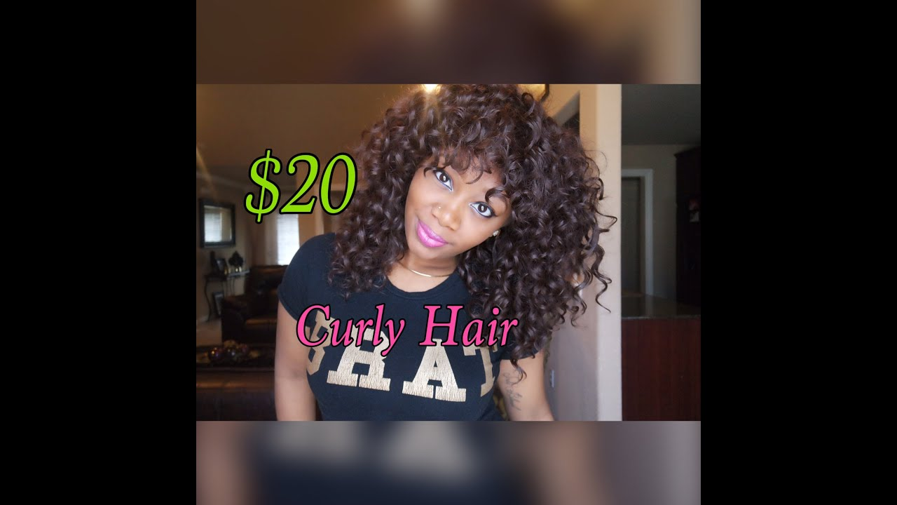 20 Curly Hair Milky Way Fourbulous Youtube